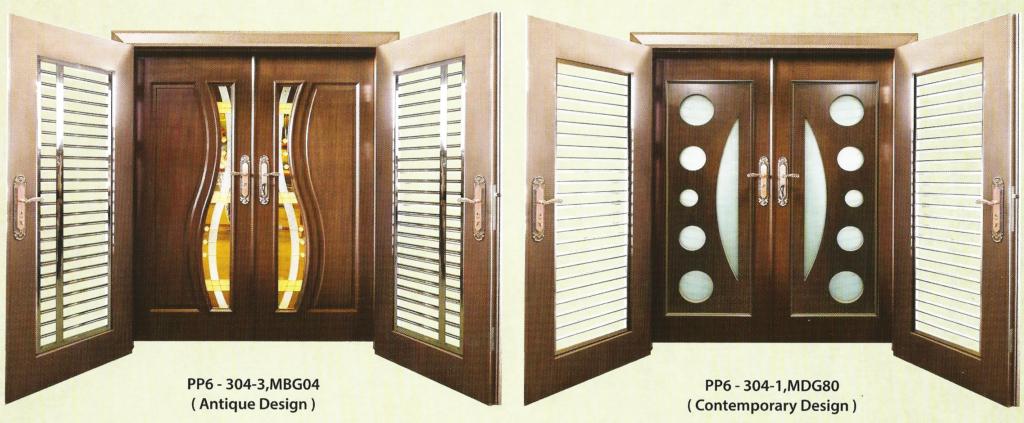 Security + Solid Wooden Door – Everluck Enterprise